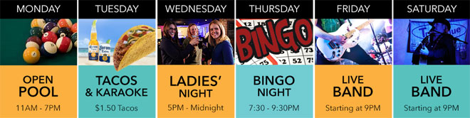 Weekly Events at Seaside Bar & Grill | Singer Island FL
